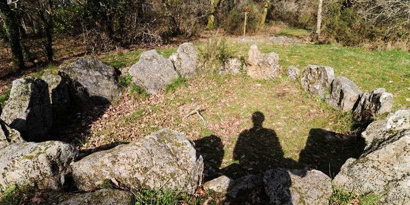 Dolmen de Mané Bogad Ploemel - Morbihan Bretagne sud (1) © C. WACTAUSEN
