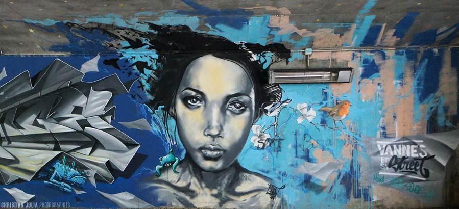 christian julia photographies © découvrir vannes par le street art-centre ville-golfe du morbihan-bretagne sud
