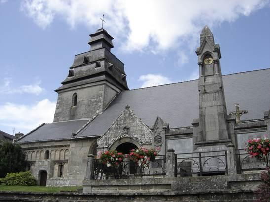 Eglise-Le-Faouet-pays-roi-Morvan-Morbihan-Bretagne-Sud © OTPRM