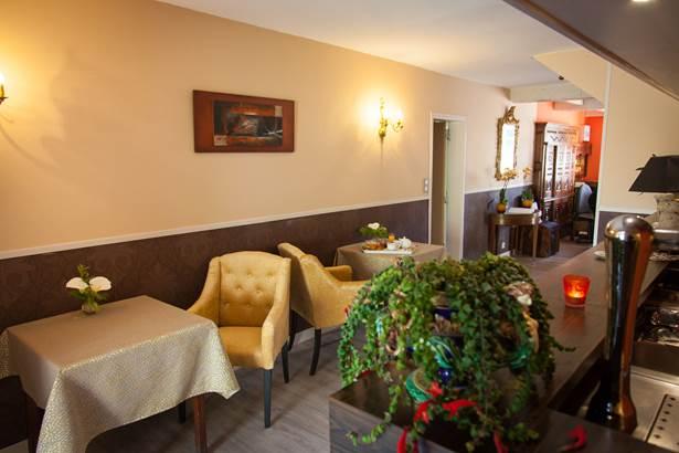 Espace bar détente Hôtel de Kerlon*** Plouhinec Morbihan ©