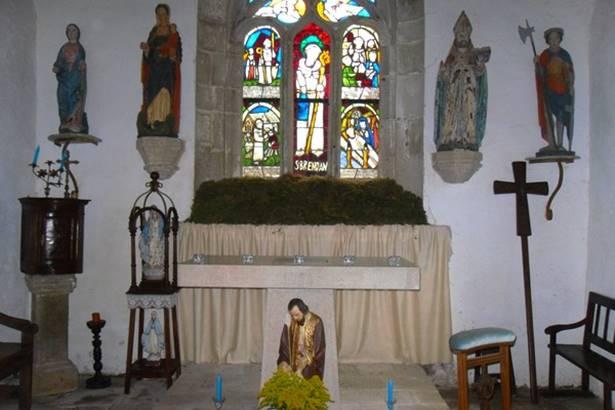 Chapelle-Saint-Brendan-Langonnet-Pays-Roi-Morvan-Morbihan-Bretagne-Sud © OTPRM