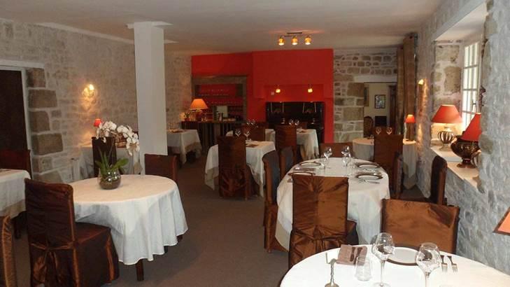 Salle à manger Hôtel de Kerlon*** Plouhinec Morbihan ©