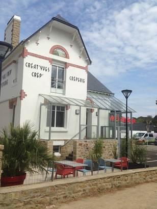 Creperie-facade du restaurant-carnac-Morbihan-bretagne-sud © A. Lecointre
