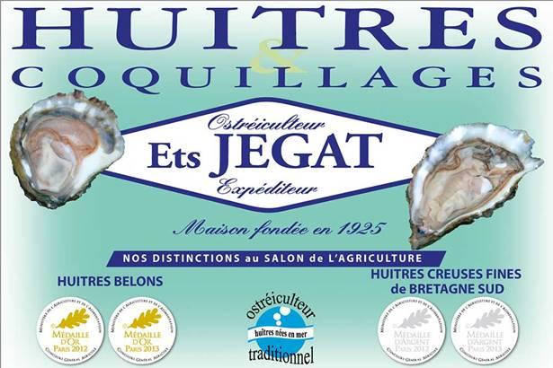 Ostréiculteur Jégat-Arradon-Golfe-du-Morbihan-Bretagne sud © Jégat
