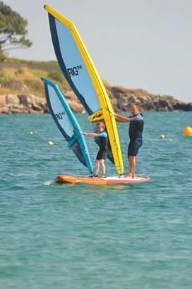 loisirs-windsurf-Carnac-Morbihan-Bretagne-Sud © Antoine Huet