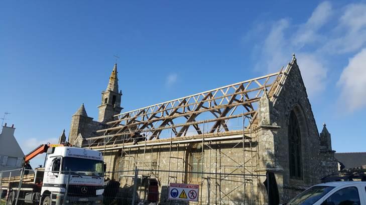 L'association des Amis de la chapelle et du site de Notre Dame des Fleurs en Plouharnel  © Vide-salon-Plouharnel-Morbihan-Bretagne Sud