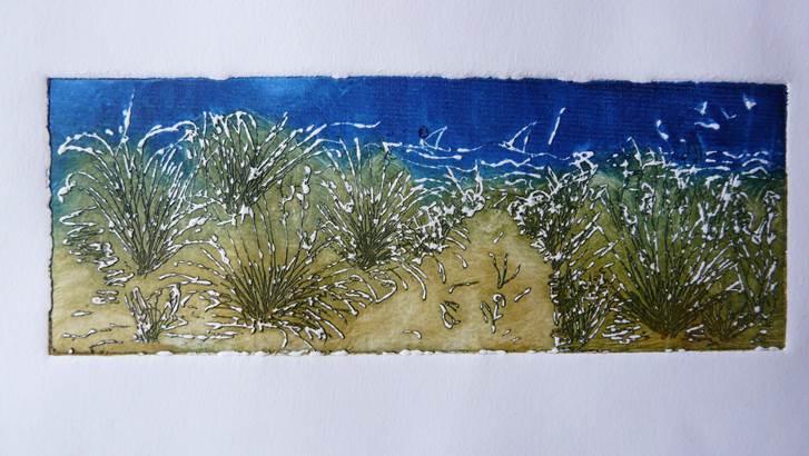 Fabienne Le Calvé © Exposition Erdeven Fabienne Le Calvé