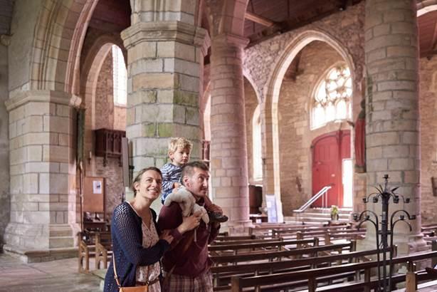 Eglise de Rochefort-en-Terre - Morbihan Bretagne Sud © Rudy Burbant