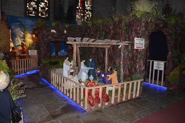 ADMAS © Noël à Ste-Anne d'Auray - Crèche de la Basilique