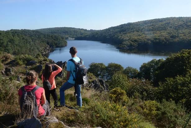 Vue du Lac de Guerlédan  © OT Pontivy Communauté