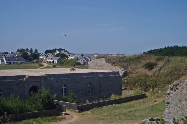 fort ile-hoedic-morbihan-bretagne-sud © conservatoire du littoral