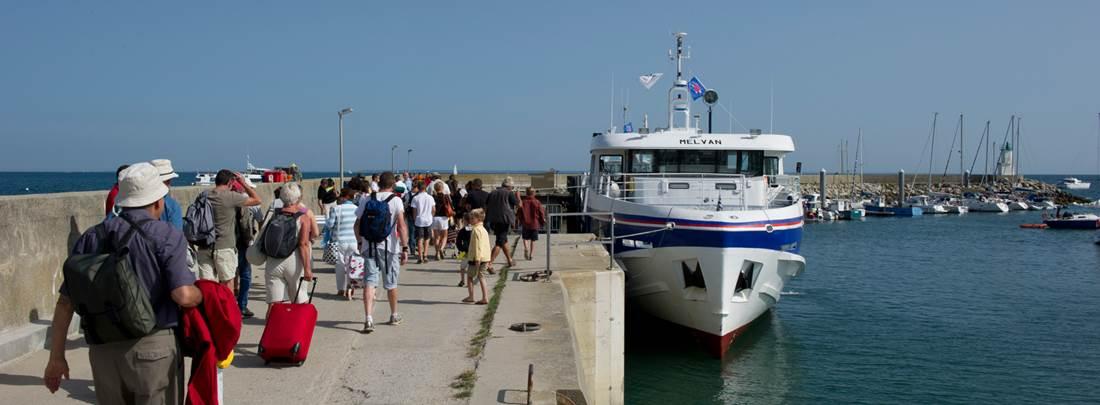 Port de plaisance d'Hoëdic © Michel Jamoneau