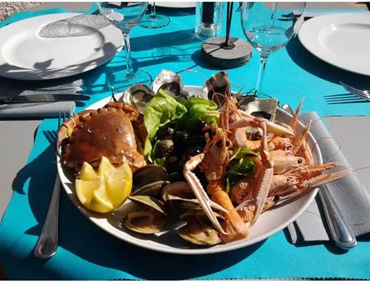 Restaurant-Les-Embruns-Ile aux Moines-Golfe-du-Morbihan-Bretagne sud © Les Embruns