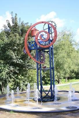 horloge à eau  © mairie de Josselin