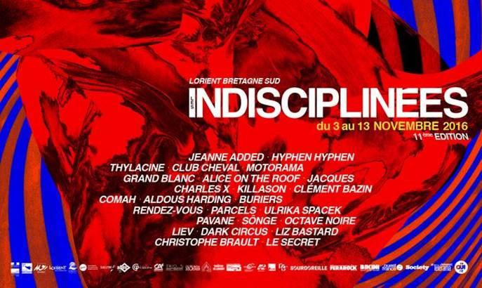 © Festival Les Indisciplinées 2016