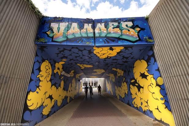 christian julia photographes © découvrir vannes par le street art-centre ville-golfe du morbihan-bretagne sud