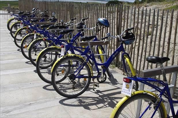 Location de vélos au gré du vent ©