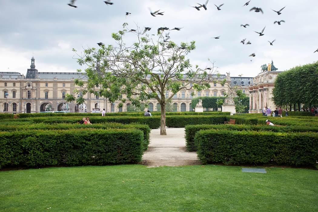 Paris, le Louvre et palais Royal
