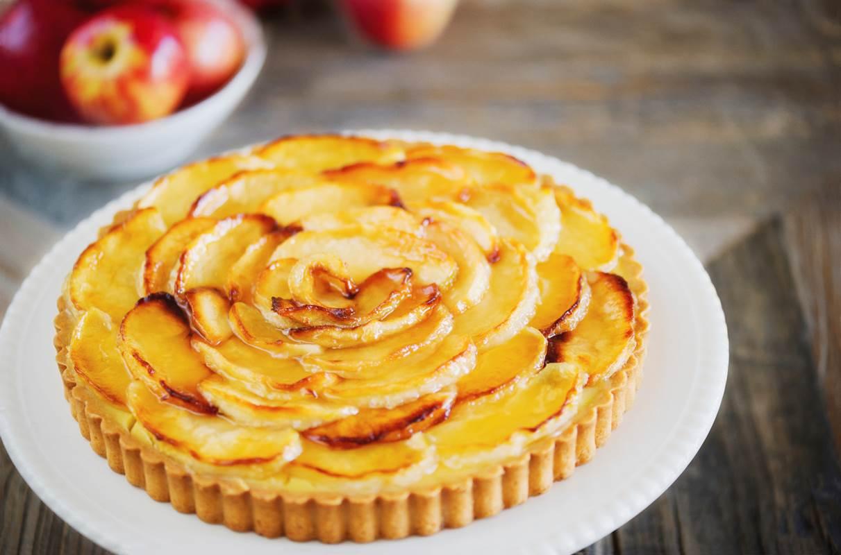 Tartelettes aux pommes et Pélardons - Recette Cévennes