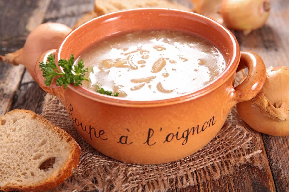 Soupe à l'oignon doux des Cévennes - Recette