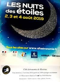 La nuit des étoiles à l 'observatoire Astronomique de Missiriac