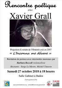 Rencontre poétique avec Xavier Grall