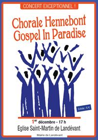 Concert Gospel à St Martin de Landevant