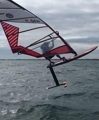 Régate du Championnat de Bretagne de windfoil