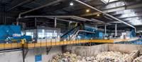 Visite du centre de tri des déchets recyclables