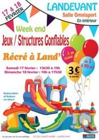 Recré à Land - Inflatable Structures Weekend
