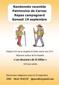 Randonnée racontée de St Gilles en campagne