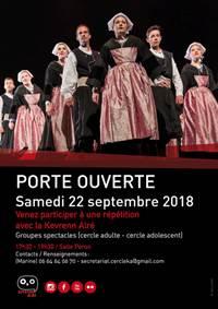 Kevrenn Alré Open Rehearsal in Auray