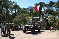 Visite du site du Bégo par Liberty Breizh Memory Group