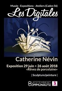 Exposition Rêves de porcelaine - Catherine Névin