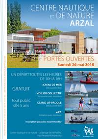 Portes ouvertes au centre nautique d'Arzal