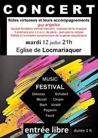 Concert Guy Angelloz - Locmariaquer