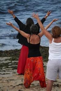 Séance de Qi Gong à la plage - St Pierre Quiberon