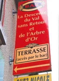 Bar A la descente du Val sans Retour