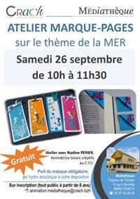 Atelier Marque-Pages - CRAC'H