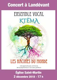 Concert de l'Ensemble Vocal Ktêma
