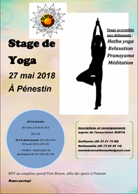 Stage de Yoga à Pénestin