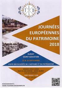 JEP 2018 - Visite découverte Histoire et Patrimoine à Auray