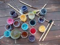 Atelier peindre avec la nature à Keravéon