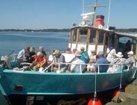 Goûter Croisière sur le Golfe du Morbihan avec Mélanie Chouan