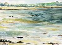 Les paysages du Golfe - Séance de peinture sur le motif, aquarelle et carnet de voyage.