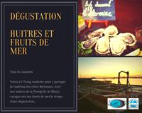 Dégustation d'Huîtres & Fruits de Mer