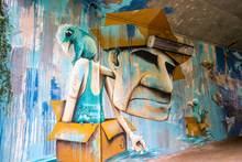 Visite guidée sur les oeuvres de street-art / graffiti de la ville