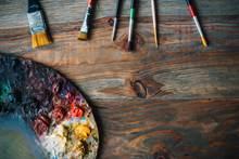 Exposition de peintures  et d'art floral