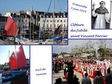 Jubilé Saint Vincent Ferrier : messe solennelle de clôture