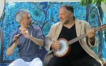Phil'Hocine (world music poetique) au Petit Café dans la Prairie